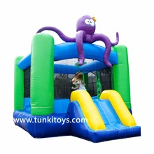 octopus Commercial inflatable bounce house, inflatable bouncer, inflatable bouncy castle for kids