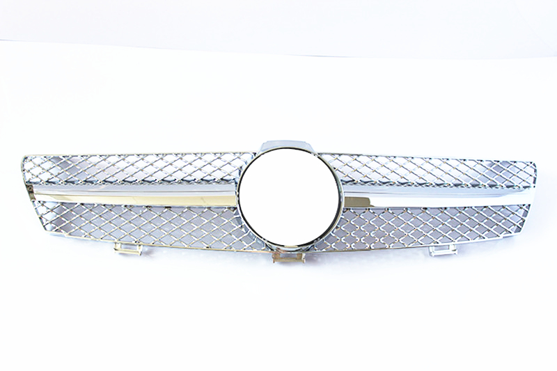 For CLS CLASS <font><b>W219</b></font> Mesh <font><b>grille</b></font> ABS Material <font><b>Grille</b></font> For CLS CLASS 2004-2007 Replacement Front <font><b>Grille</b></font> Front Bumper image