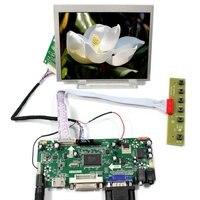 HDMI DVI VGA Audio Lcd Controller Board LVDS Tcon 5inch AT056TN53 V1 640X480 Lcd