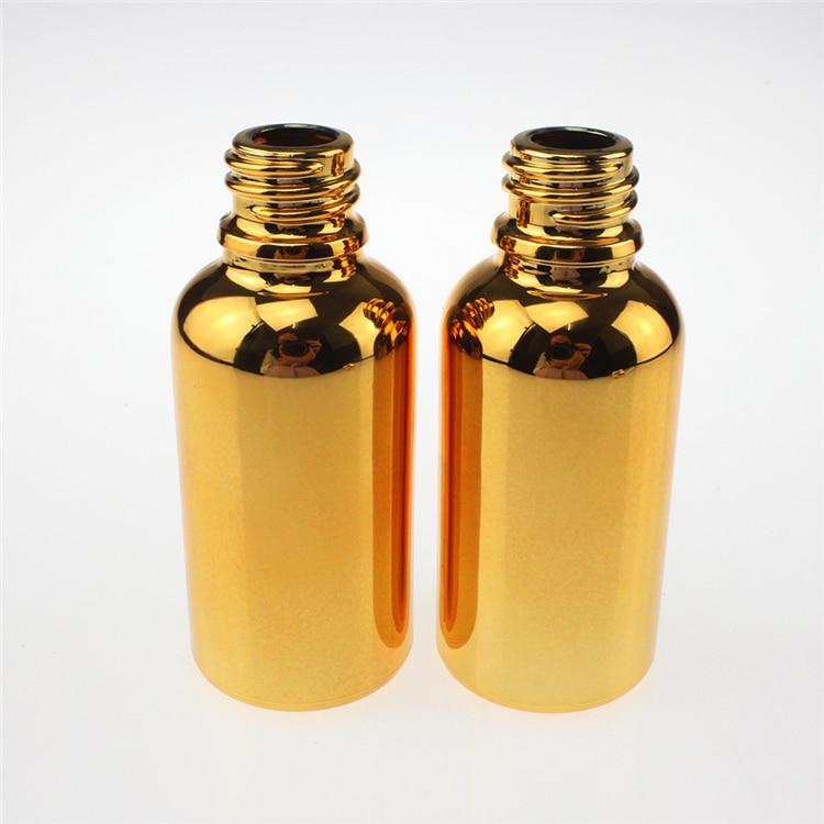 100 copë ari 50ml shishe qelqi luksoz me vaj thelbësor me kapak - Mjet për kujdesin e lëkurës - Foto 2