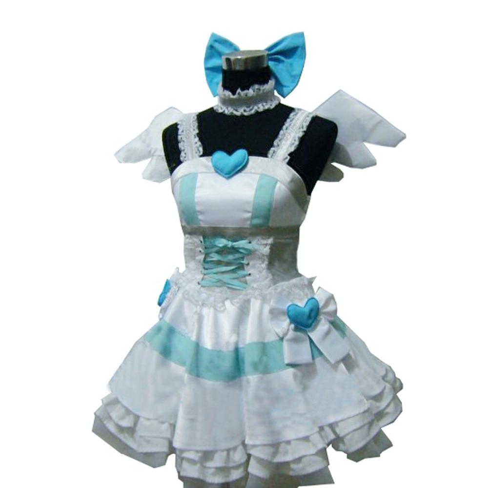 2019 Panty & Stocking With Garterbelt Heroine Anarchy Stocking Angel Dress Uniform Cosplay Costume Custom Made