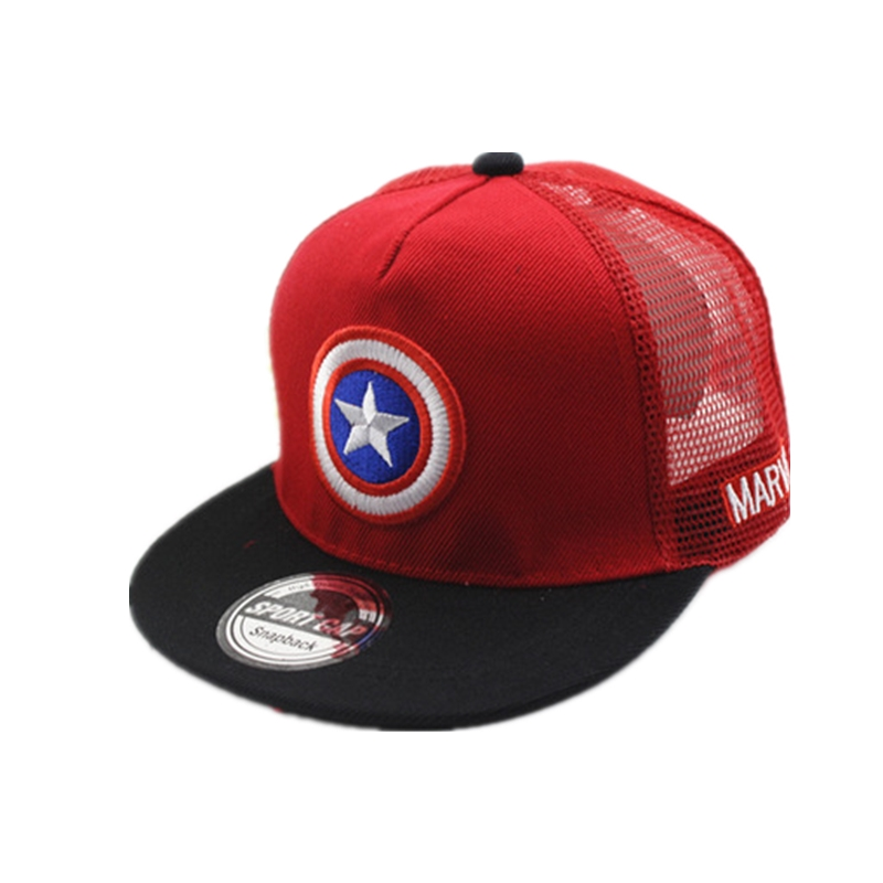 ALLKPOPER   Baseball     Cap   Men Cartoon Captain America Snapback Casquette Hip Hop Hat Dad hats czapka z daszkiem gorras para hombre