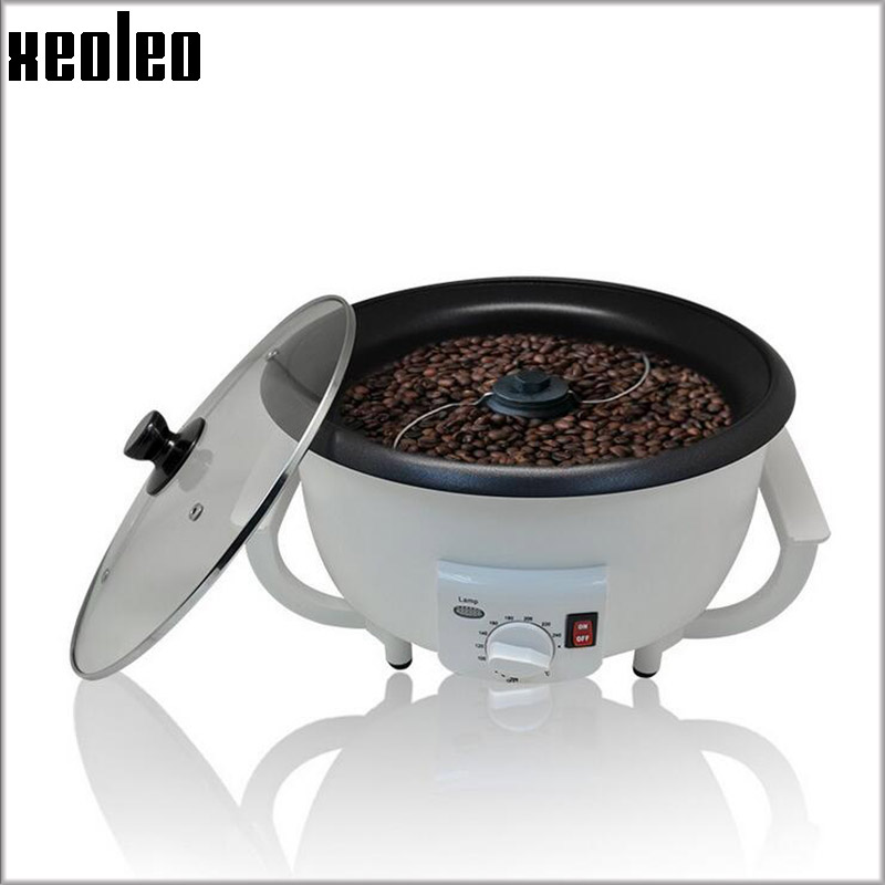 XEOLEO Electric Coffee roaster Automatic Coffee Bean Baker 750g 800W Coffee baking machine suitable for Peanut/Nuts Bean Roaster coffee bean baking machine almond roaster roasted peanut coffee nuts seeds etc