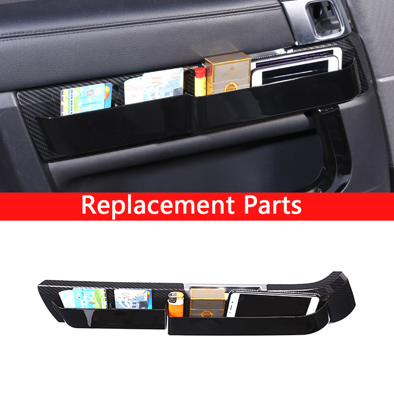 Replacement Parts Carbon Fiber Plastic Car Inner Door Molding Panel Cover Trim For Land Rover Range Rover Sport 2014-2017