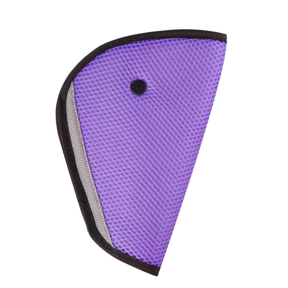 8 Color car road safety Seat Belt Adjuster car safety belt device baby child protector positioner car seat cover car sticker hot