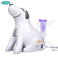 Hot sale medical home health care portable inhaler mini dog cartoon designed sprayer children adult nebulizer