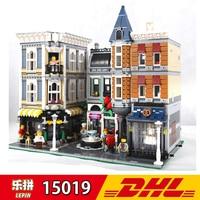 4002pcs Lepin 15019 City Street View Series Shop Light Blocks Assembly Square Building Block Kits Bricks Children Assembling Toy