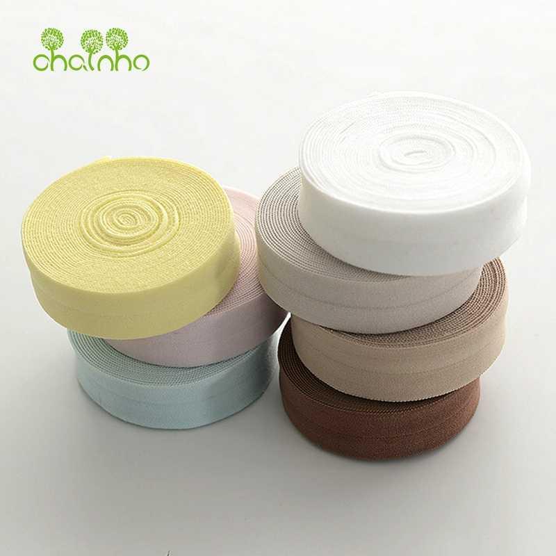 Chainho, 1 ярд/шт, спандекс эластичные полоски ткани для обертывания край ткани, ширина 2 см и длина 91 см