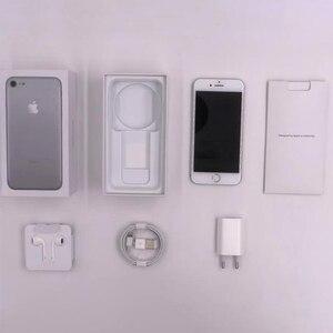 Image 4 - Desbloqueado apple iphone 7 ios 2 gb ram 32/128 gb/256 gb rom lte 12.0mp câmera quad core impressão digital telefones celulares originais iphone 7