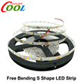 LED Strip 2835 Free Bending S Shape LED Strip DC12V Flexible LED Light 60LED/m 5m/Lot for Channel Letter.