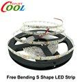 LED Strip 2835 Free Bending S Shape LED Strip DC12V Flexible LED Light 60LED/m 5m/Lot for Channel Letter.