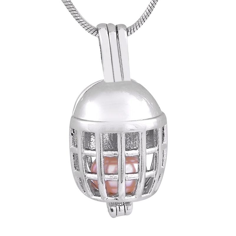 Football Helmets Lacket Charms Pendant Antique Silver DIY Retro Jewelry Fashion Cage Pendant Hot Sale P176