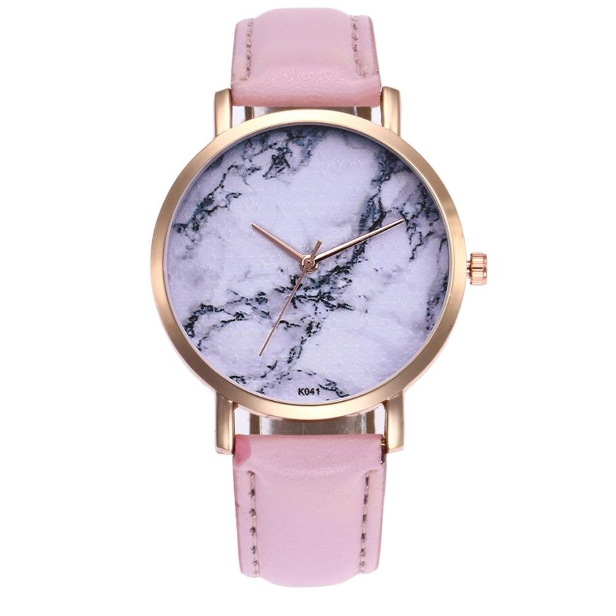 Women Watch  Ladies Wrist Watch relogio feminino Women's clock Woman Fashion Leather Analog Quartz Watches relogio feminino 3#