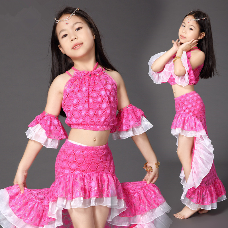 Children child Bellydance oriental Belly Indian gypsy dance dancing costumes clothes bra belt scarf ring skirt dress set suit 24-in Belly Dancing from ...  sc 1 st  AliExpress.com : gypsy kid costume  - Germanpascual.Com