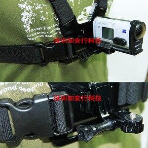 Image 2 - חזה רצועת הר החגורה עבור Sony AS15 AS20 AS30 AS50 AS100 AS200 AS300 רוזוולט X1000 X1000V X3000 X3000R AZ1 מיני POV פעולה מצלמה