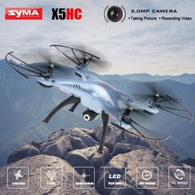 Syma X5HC FPV RC Quadcopter Drone with WIFI Camera 6-Axis 2.4G RC Helicopter Quadrocopter Toys VS Syma with Led night lights