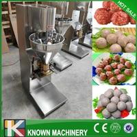 Vendita automatica polpetta che fa macchina/manzo sfera di rotolamento macchina/palla di carne creatore per rendere manzo carne di maiale pesce palla