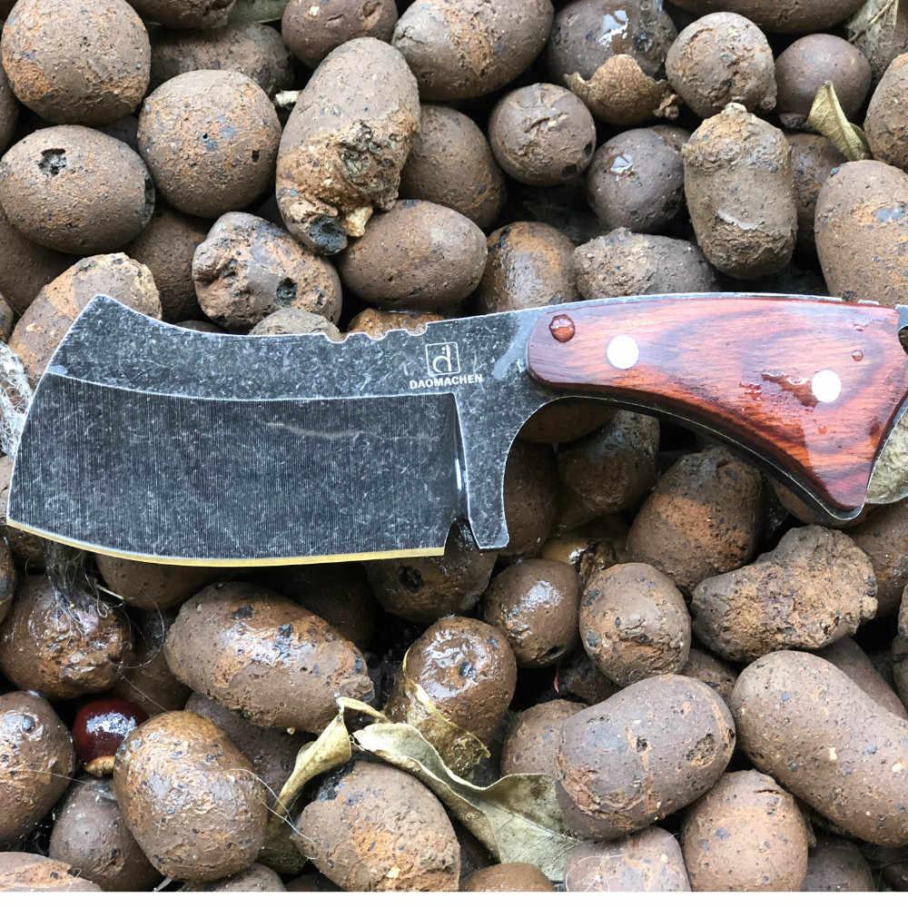 DAOMACHEN taktik av bıçağı açık havada kamp survive bıçaklar çok dalış aracı ve Taş yıkama bıçağı küçük mutfak bıçağı