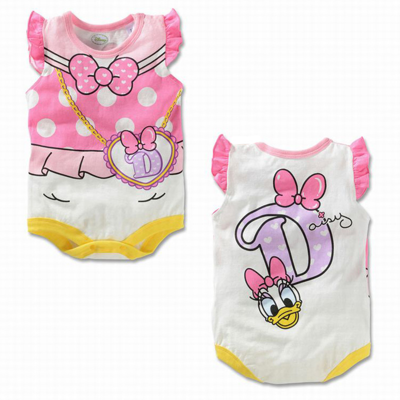 Cartoon Newborn Baby Rompers Cotton Baby Boy Clothes Infant Jumpsuits Summer Bebe Clothes sleeveless Baby Girls Rompers baby rompers summer baby boy clothes gentleman newborn baby clothes infant jumpsuits roupas bebe baby boy clothing kids clothes