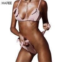 Badpak Vrouwen 2017 Nieuwe Sexy Roze Bikini Sets Vrouwen Braziliaanse Badpakken Zwemkleding Thong Hot Bikini Bodems Afrikaanse Badmode