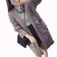2017 Autumn Pregnancy Twist Knot Sweater Coats Maternity Long Cardigans Knitted Soft Warm Long Sleeve Outwears