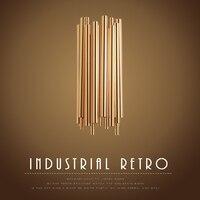 Постсовременный дизайн Брубек настенный светильник для отеля/бара/кафе модное украшение дома освещение Золотая алюминиевая трубка
