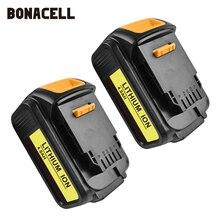 цена на Bonacell For DeWalt 18V 4000mAh Battery Power Tools Batteries Replacement DCB181 DCB182 DCD780 DCD785 DCD795 L10