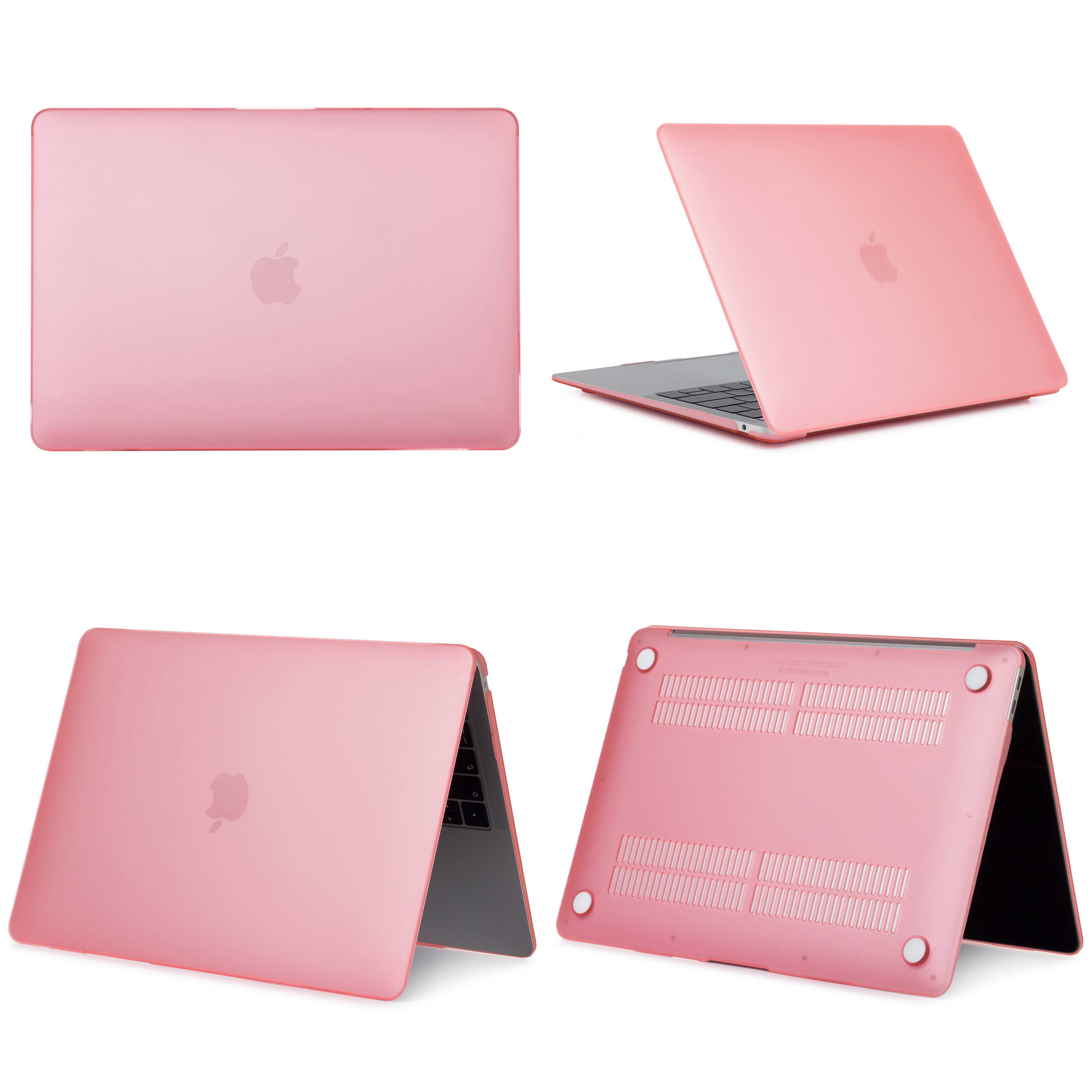 マットアップル MacBook Air Pro の網膜 11 12 13 15 インチ、 13.3 15.4 インチタッチバーシェルプロテクター