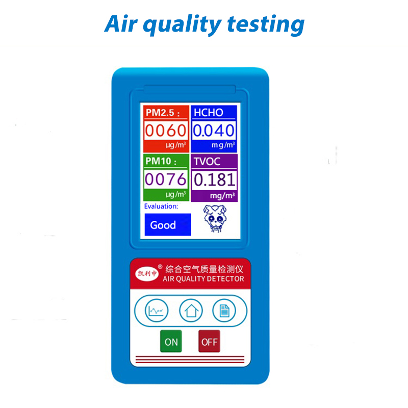 English menu Formaldeyde HCHO PM1.0 PM2.5 PM10 Gas Analyzer TVOC Particles Detector Meter Tester Air Quality Analyzer br 8b formaldeyde hcho pm1 0 pm2 5 pm10 gas analyzer tvoc particles detector meter pm 2 5 pm 10 tester air quality monitor