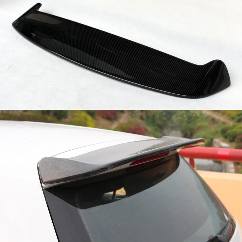 цена на Golf 7 MK7 RDX Style Carbon Fiber Auto Car Roof Spoiler Wing for Volkswagen VW Golf VII Golf7 Not GTI Not R Line