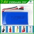 7.4 V 1500 mAh Lipo bateria Para Lipo bateria FT009 lancha barco de controle Remoto 2 S 7.4 V 1500 mah 903462-2 S EL KET T PLUGUE JST SM