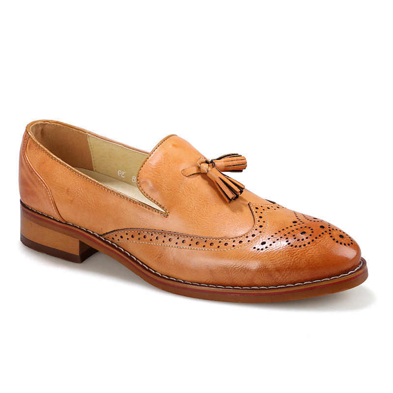 Tassels Leather Man England Leather Dress Leather Shoes Leather Casual Shoes Men Fashion Hot Selling Men Shoes Leather
