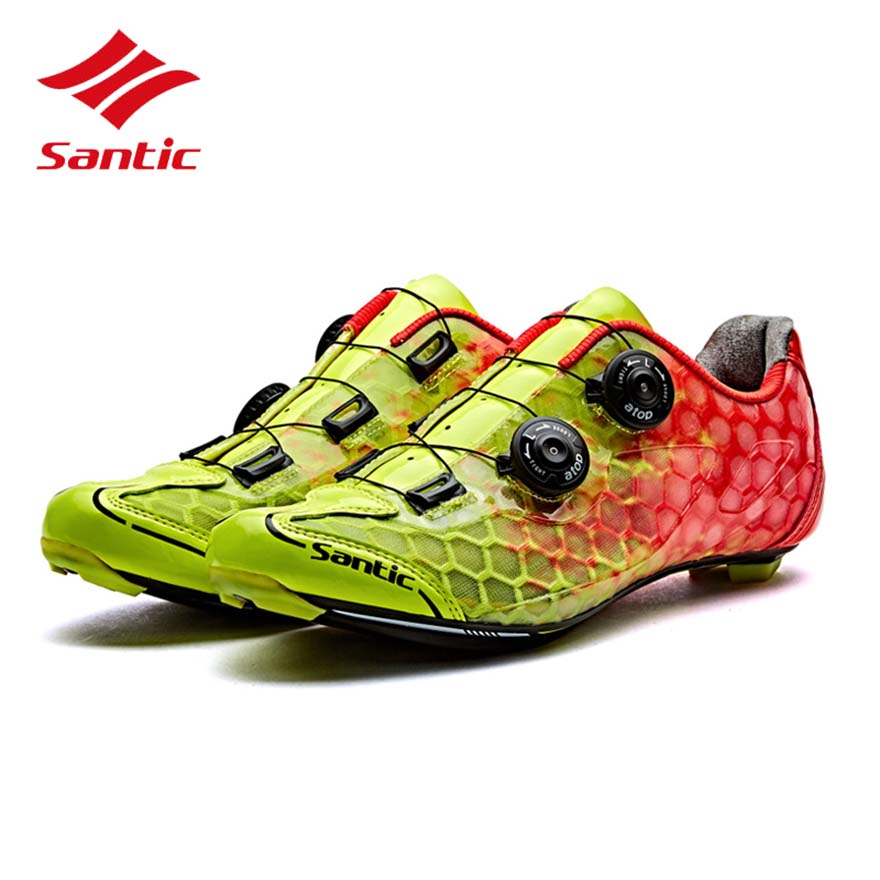 santic white bicycle racing sports cycling shoes breathable athletic mtb road bike auto lock shoes ciclismo zapatillas Santic Cycling Shoes Men 2017 Breathable Road Bike Shoes Racing Carbon Fiber Sole Auto-lock Bicycle Shoes Sapatilha Ciclismo