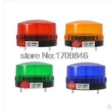 1 шт. 220VAC оранжевый светодиодный маяк предупреждающий сигнальный свет предупреждающая лампа спиральная фиксированная