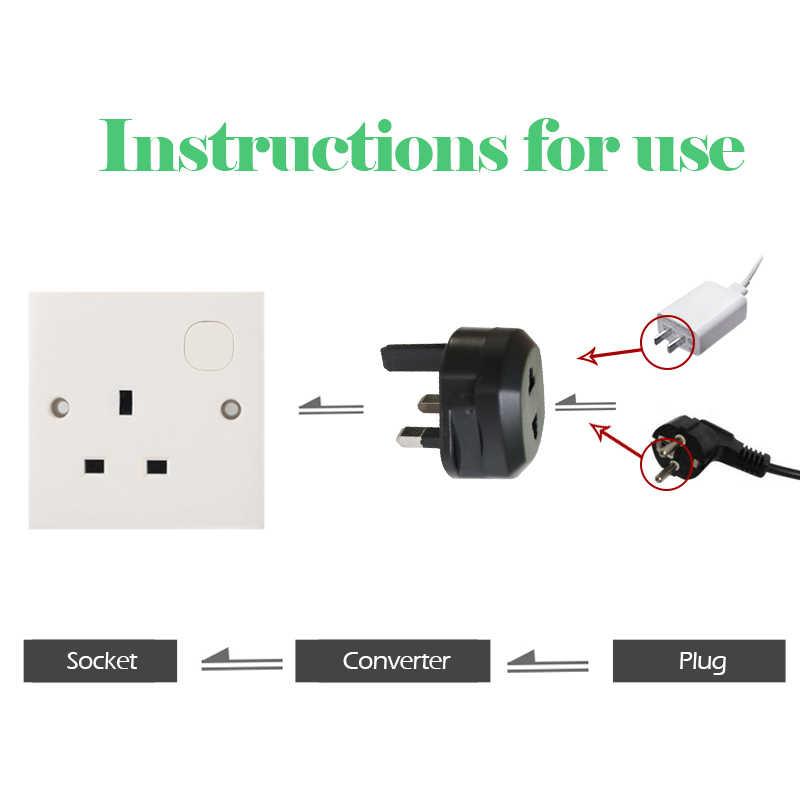 New Arrival 2019 ue usa do wielkiej brytanii AC gniazdo zasilania wtyczka podróżna ładowarka ścienna Adapter konwerter wtyczki elektrycznej zasilacz
