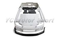 FRP Fiber Glass Bodykits Fit For 1999 2000 R34 GTT 2D GTR Hood Bumper Front Lip Side Skirt Underboard Rear Diffuser Spats