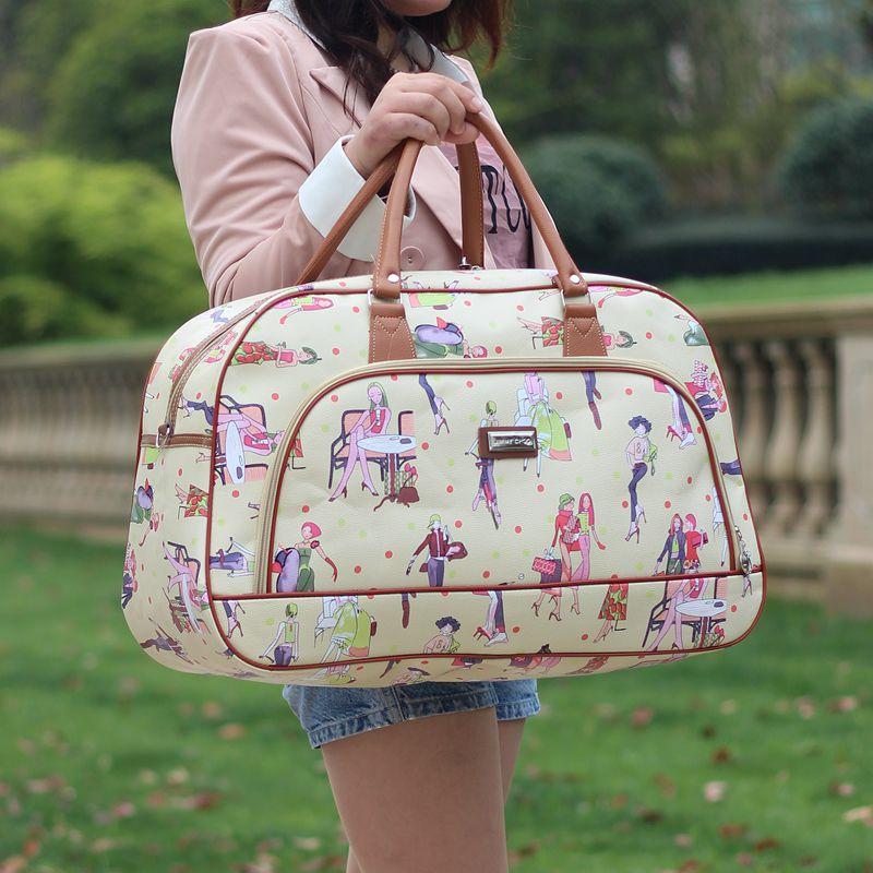 duffel bolsa nova torre beleza Travel Bags : Women's Bags