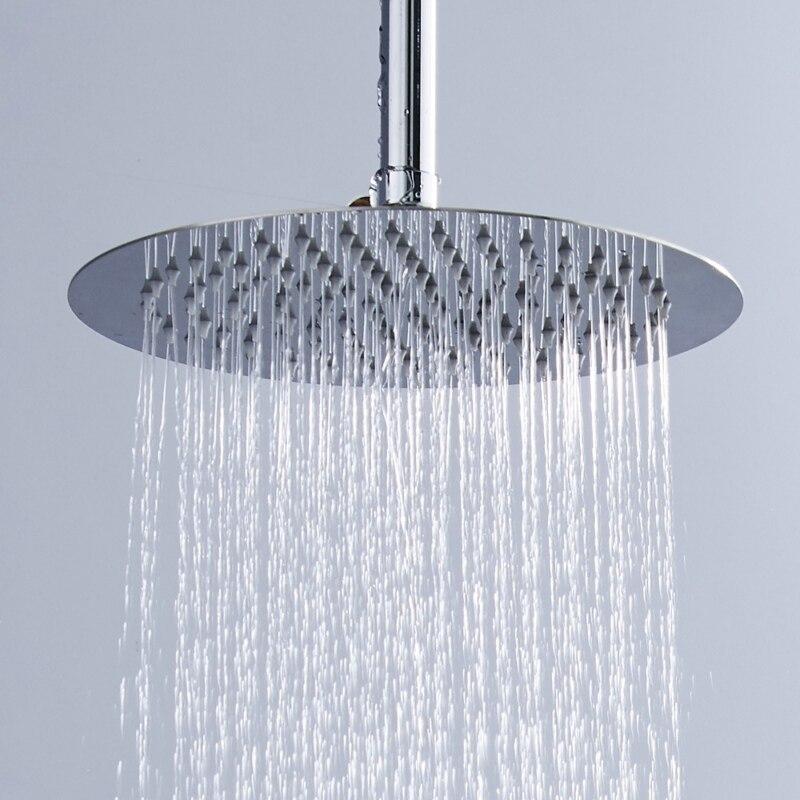 Il trasporto libero 12 pollice soffioni doccia Ultra sottile doccia in  acciaio inox SUS doccia testa non hanno braccio doccia in acciaio inox  CP12000 0b77b20e9db