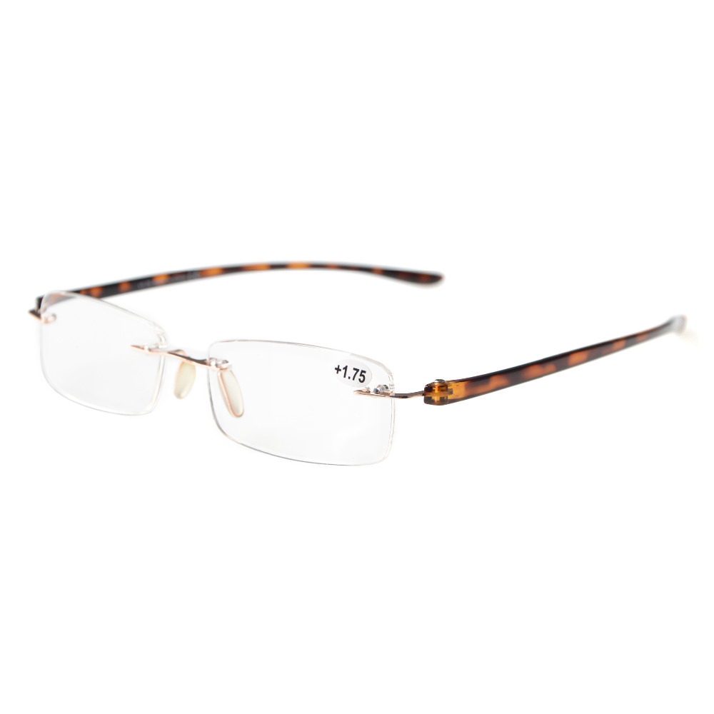 254689c38e1 R14001 Eyekepper Readers Small Lenes Rimless Reading Glasses +0.50 +4.00-in Reading  Glasses from Apparel Accessories on Aliexpress.com