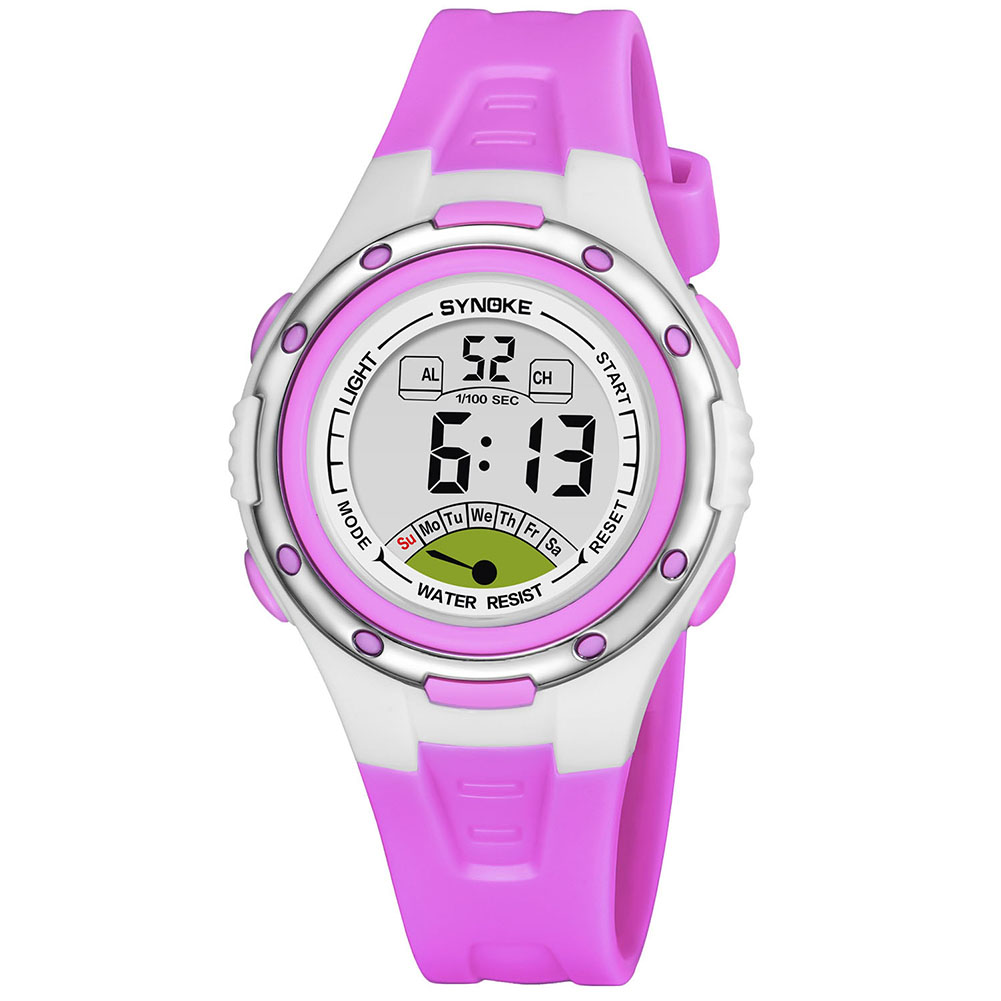 Kids Student Waterproof Watch LED Digital Alarm Date Wristwatch Rubber Band Watches LL@17Kids Student Waterproof Watch LED Digital Alarm Date Wristwatch Rubber Band Watches LL@17