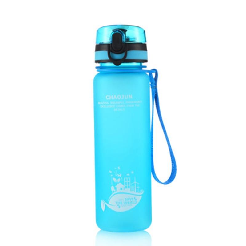 Image 5 - New 1 liter bottle plastic nature hike Sport Water Bottles 350 600 1000ml Portable Leakproof large Outdoor travel running bottle-in Sports Bottles from Sports & Entertainment