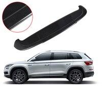 For Skoda Kodiaq 2017 2018 2019 Carbon Fiber External Rear Spoiler Trunk Boot Tail Wing More Colors Spoiler Car Accessories