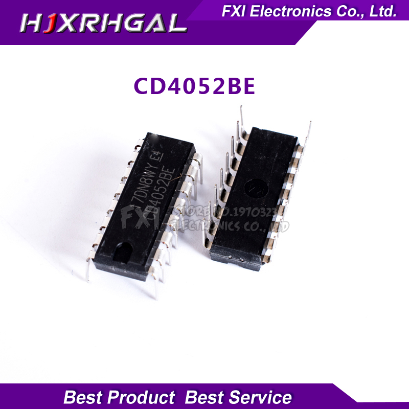 10PCS CD4052BE CD4052 DIP16 DIP new original free shipping