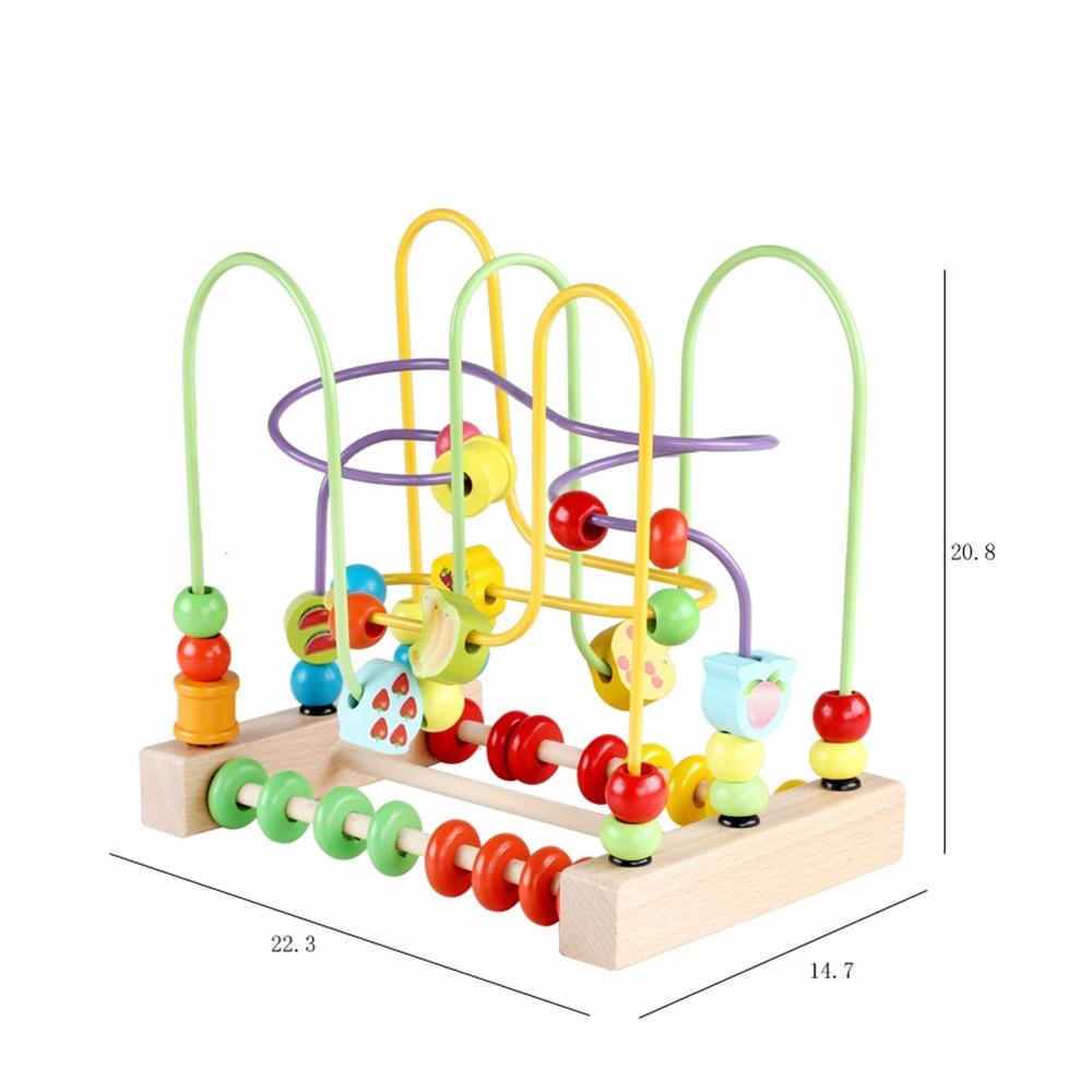 contagem granulo abaco montessori materiais matematica brinquedos 05