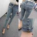 Новое поступление азиатский стиль высокое качество тонкий джинсовые брюки и брюки сексуальный бесплатная доставка