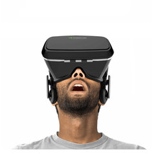 Google Cardboard VR shinecon Professional Model VR Digital Actuality 3D Glasses +Sensible Bluetooth Wi-fi Distant Management Gamepad