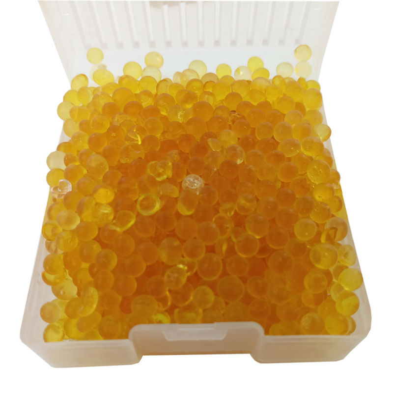 Orange Blue Silica Gel 60g(Incl. Box) Moisture Absorber Reusable Silicagel Absorbent Desiccant Box Color Changing Indicating