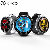 KINCO MTK6580 2G+16G Camera WIFI GPS Sleep Heart Rate Monitor Smart Phone Watch Sedenarty Weather Sports Watches for IOS/Android