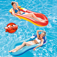 160CM New Water Mesh Hammock Pool Lounger Float Inflatable Rafts Swimming Pool Air Floating Chair Water Toys Water Inflatable