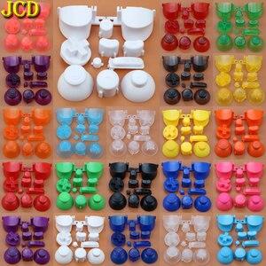 Image 5 - JCD مجموعة كاملة L R ABXY Z لوحات المفاتيح أزرار مع ثلاثية الأبعاد Thumbsticks قبعات ل gamquibe ل NGC D منصات السلطة على قبالة أزرار